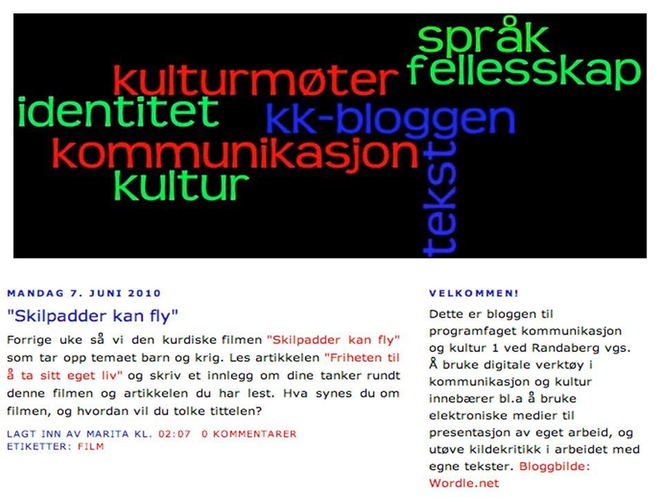 Bruk av Wikispaces