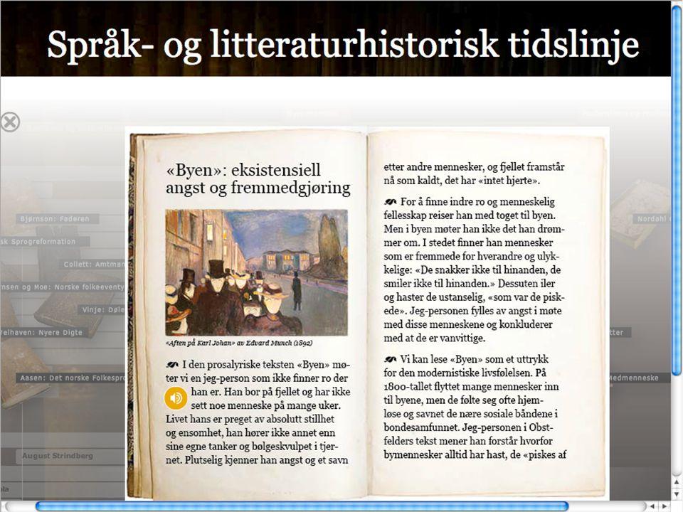 Utfordring: Å lage gode oppgaver Bruk historia i ein sjølvvald songtekst som utgangspunkt for ei novelle.
