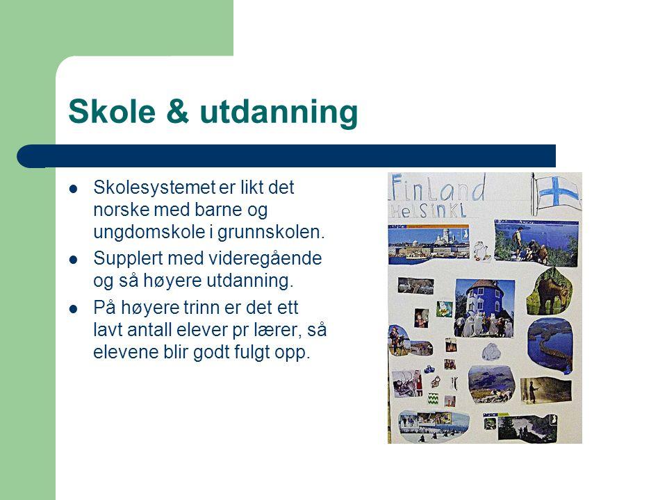 Stat og styresett  Finland er republikk, og ett parlamentarisk demokrati.