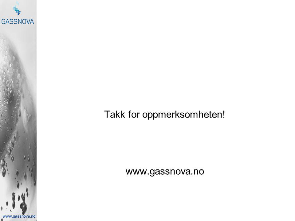 www.gassnova.no Takk for oppmerksomheten! www.gassnova.no