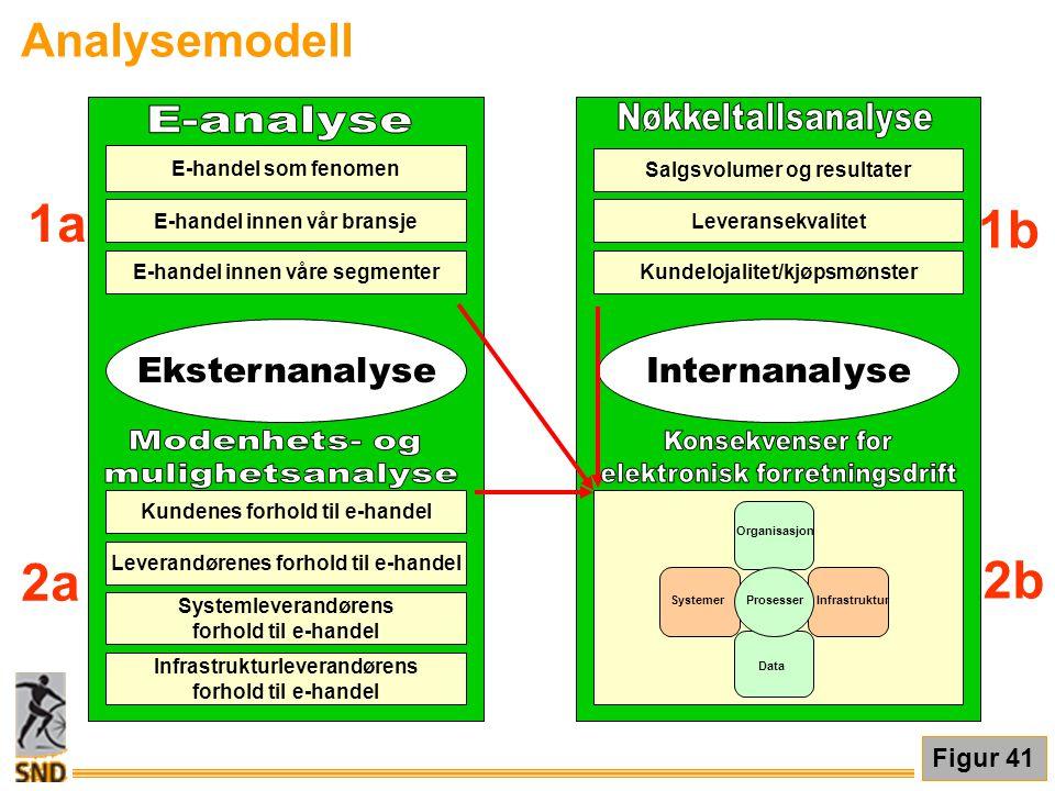 2b E-handel som fenomen E-handel innen vår bransje E-handel innen våre segmenter Kundenes forhold til e-handel Systemleverandørens forhold til e-hande