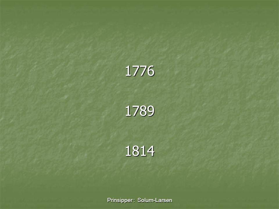 Prinsipper : Solum-Larsen 177617891814