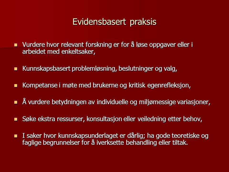 MST – som implementert i Norge  Behandlingssted: Hjemme,på skolen og i lokalmiljøet  Varighet: 3-5 måneder, eller tidligere hvis målene nås  Tjenesteyter: 23 MST-team med 3-4 terapeuter og en team leder (klinisk veileder),  Saksmengde: minimum 3 og maksimalt 6 familier for hver terapeut  Teamets tilgjengelighet: 24 timer – 7 dager i uken  Tilbud Intensiv, individualisert og omfattende tjenester  Behandlingsintegritet måles regelmessig  Rapportering: Framdrift og produktivitet rapporteres regelmessig med månedlige oversikter og lokal programevaluering.