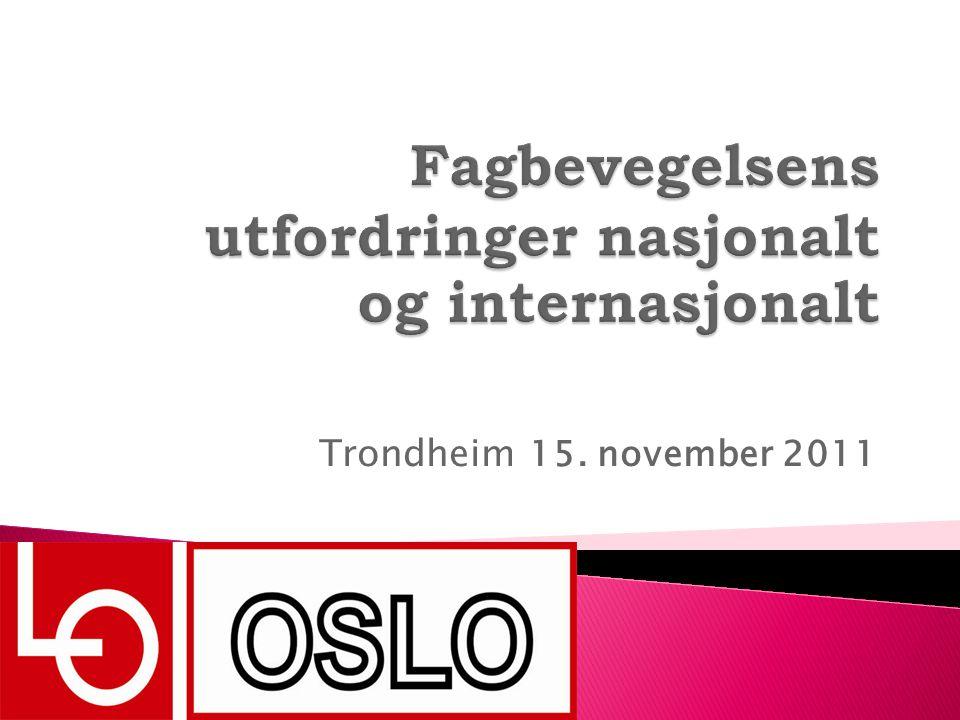 Trondheim 15. november 2011