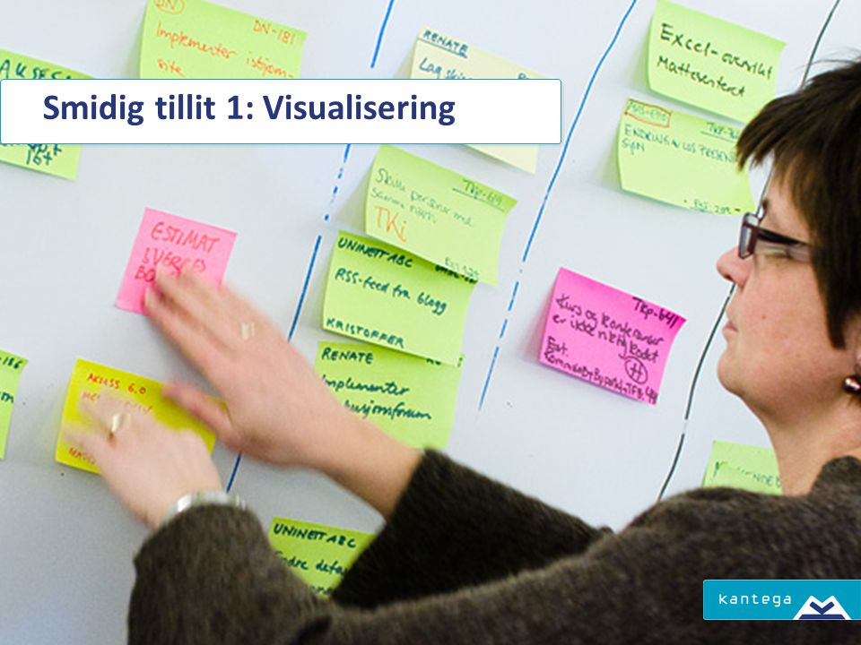 Smidig tillit 1: Visualisering
