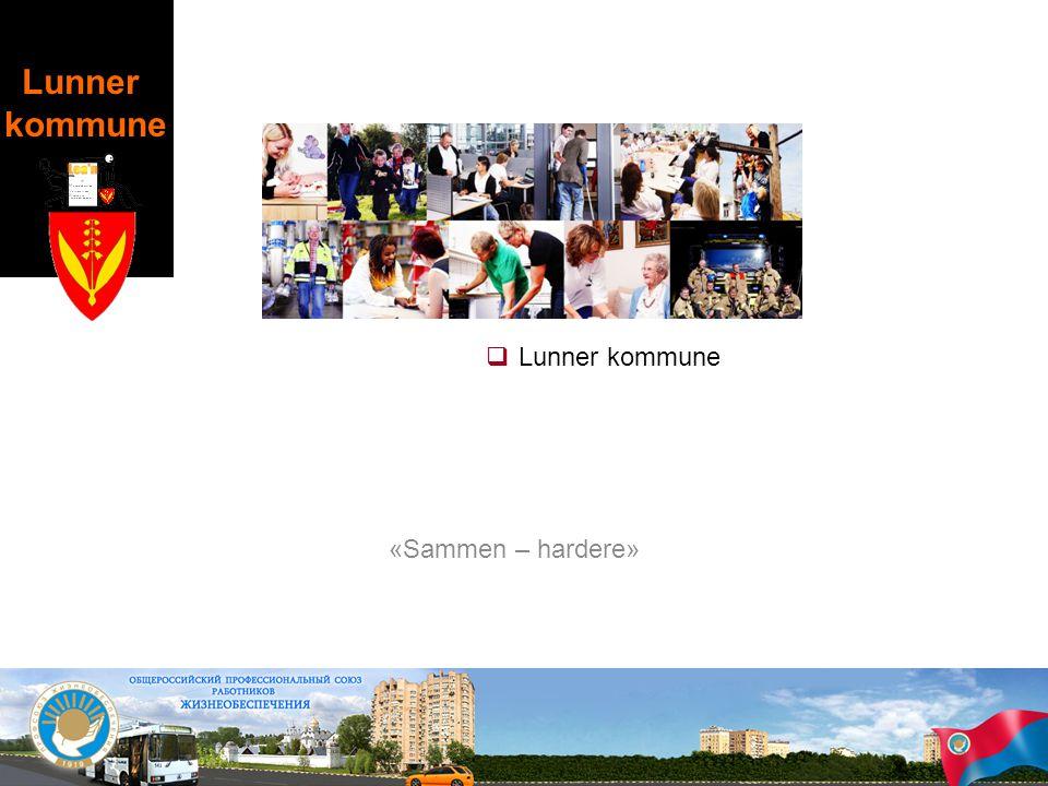 Lunner kommune «Sammen – hardere»  Lunner kommune