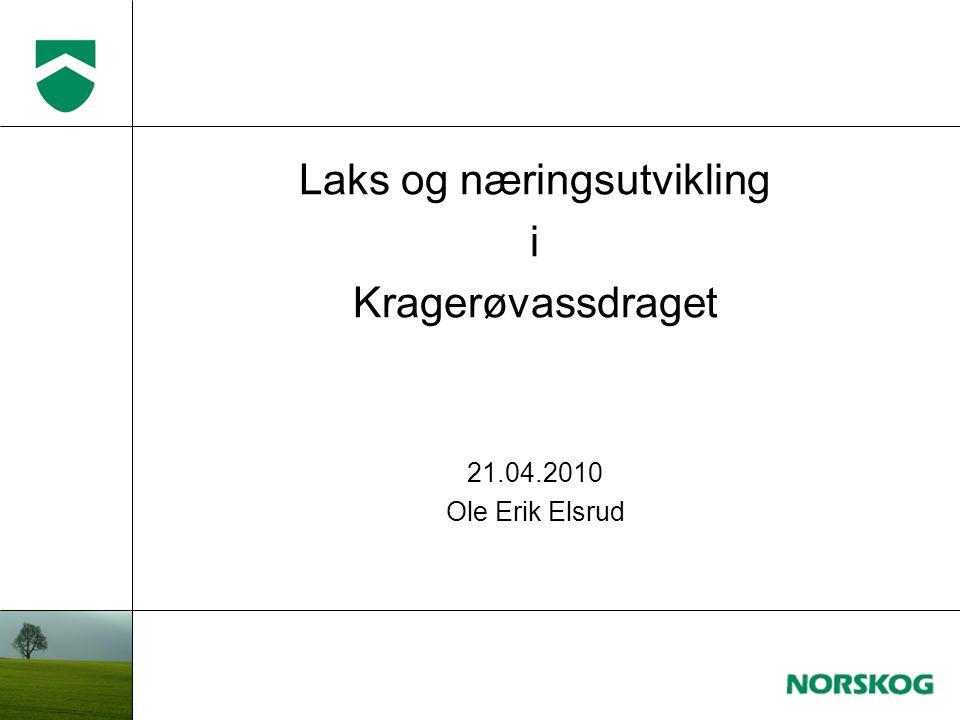 Laks og næringsutvikling i Kragerøvassdraget 21.04.2010 Ole Erik Elsrud