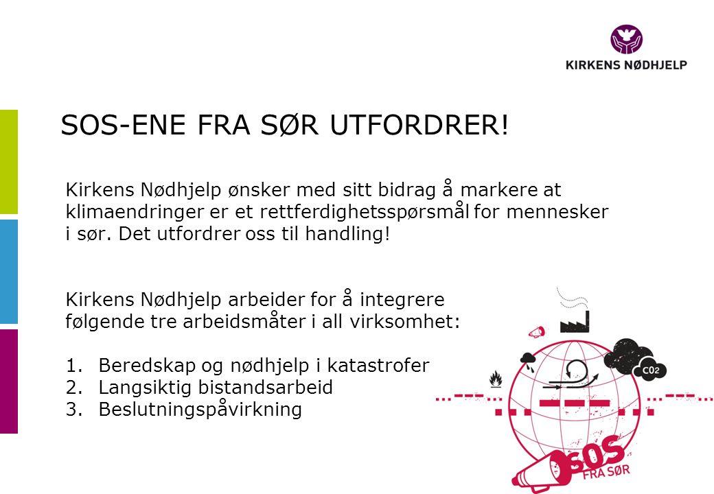 SOS-ENE FRA SØR UTFORDRER.