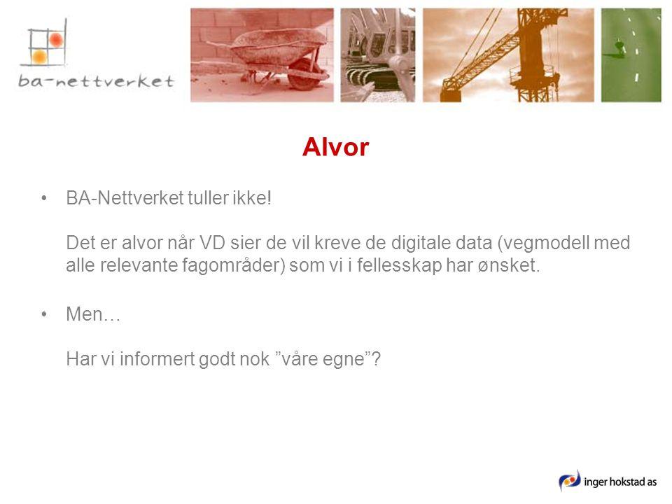 Alvor •BA-Nettverket tuller ikke.