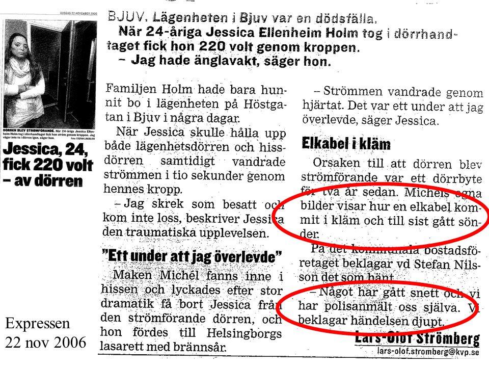 Expressen 22 nov 2006