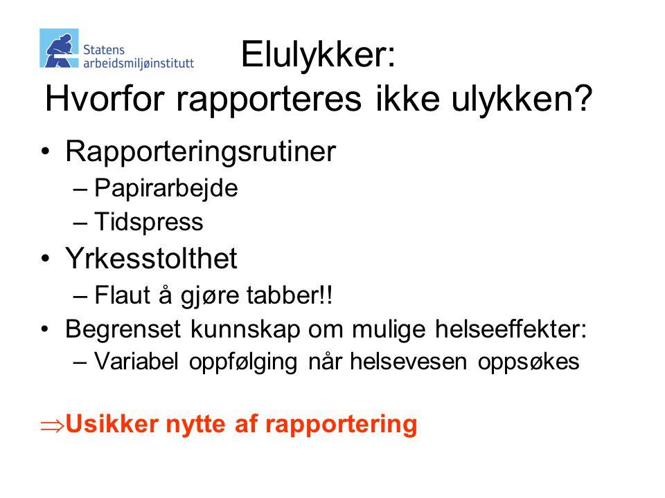 •Rapporteringsrutiner –Papirarbejde –Tidspress •Yrkesstolthet –Flaut å gjøre tabber!.