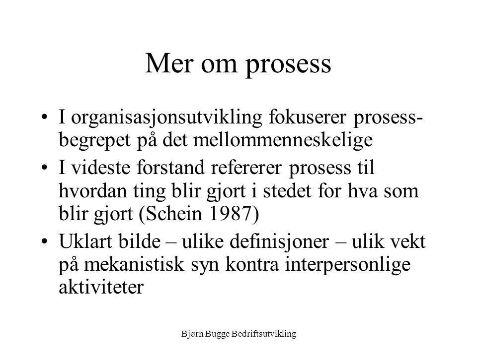 Bjørn Bugge Bedriftsutvikling BPR og IT •BPR uten bruk av IT.