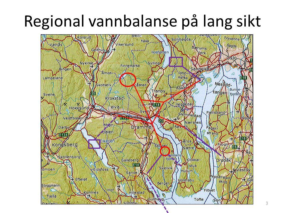 Regional vannbalanse på lang sikt 3