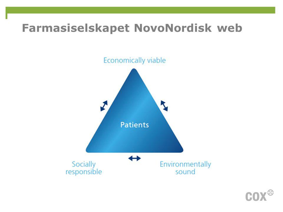 Farmasiselskapet NovoNordisk web