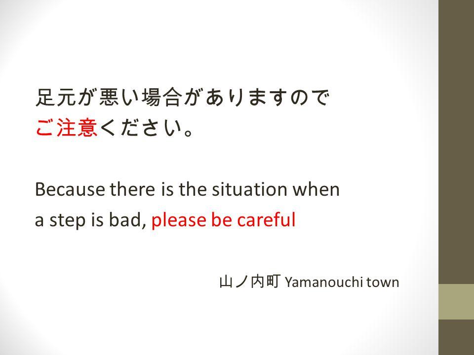 【お願い】 イルカにかまれる恐れがありますので、プー ルの内側へは、手を差し出さないでください。 【 Warning.