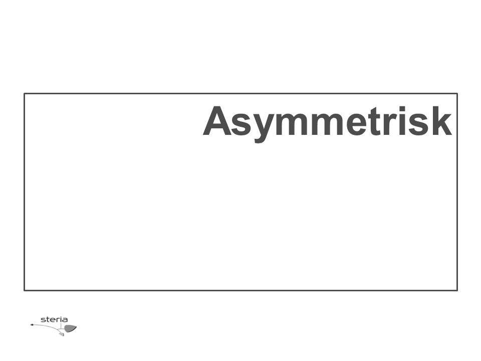 Asymmetrisk