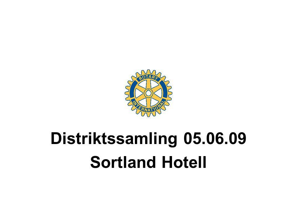 Distriktssamling 05.06.09 Sortland Hotell