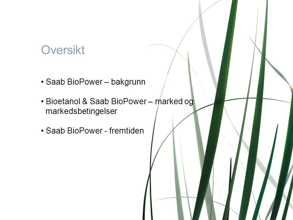 Page 2BI 12.10.2007 • Saab BioPower – bakgrunn • Bioetanol & Saab BioPower – marked og markedsbetingelser • Saab BioPower - fremtiden Oversikt