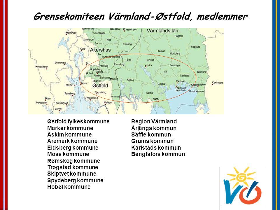 Østfold fylkeskommune Region Värmland Marker kommune Årjängs kommun Askim kommune Säffle kommun Aremark kommune Grums kommun Eidsberg kommuneKarlstads