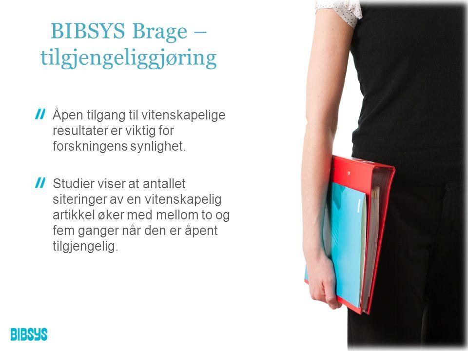 BIBSYS står for all drift og garanterer høy oppetid og ytelse.