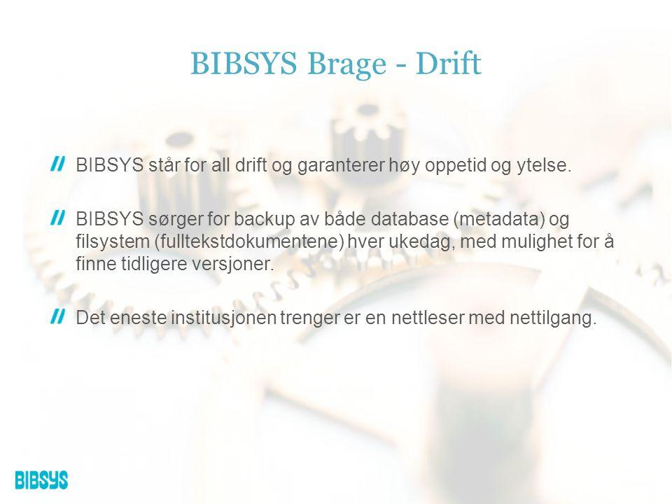 Ønsker du mer informasjon om institusjonelle arkiv og hva BIBSYS kan tilby.