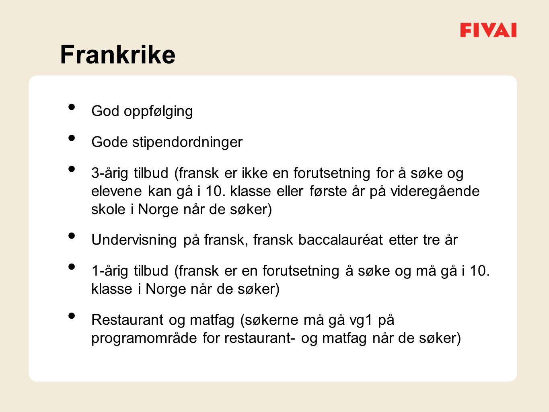 Mer informasjon om tilbudene på fivai.no