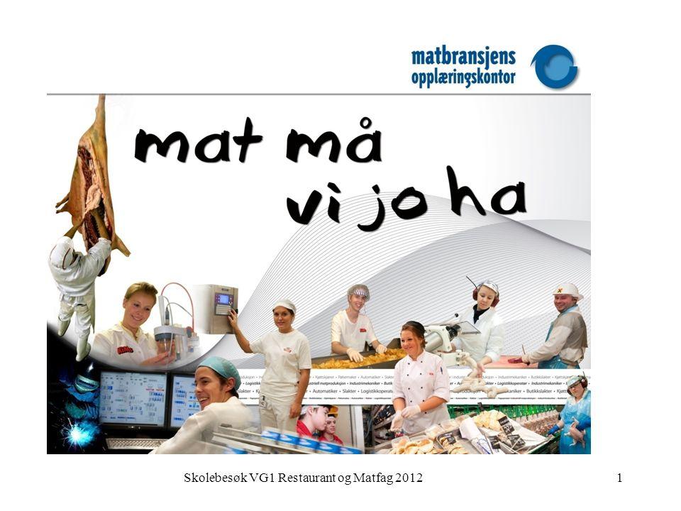 Skolebesøk VG1 Restaurant og Matfag 20121