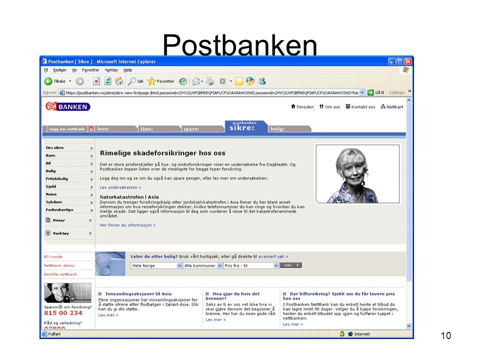 10 Postbanken