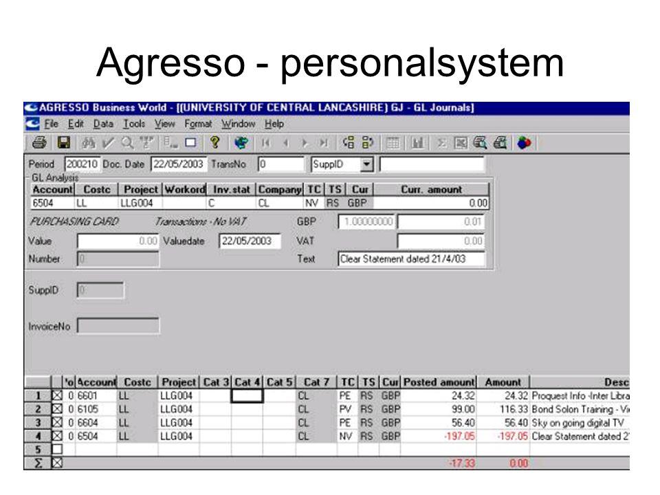 Kirsten Ribu HiO 200813 Agresso - personalsystem
