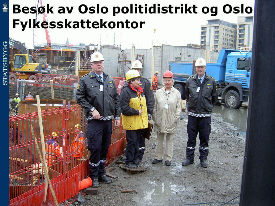 Besøk av Oslo politidistrikt og Oslo Fylkesskattekontor
