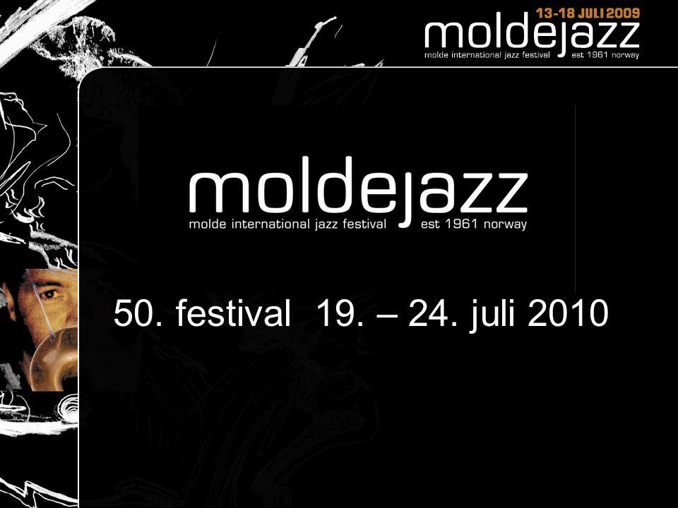 50. festival 19. – 24. juli 2010