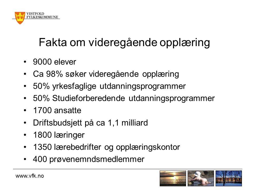 www.vfk.no Overgang Vg1 - Vg2, 2009 - 2010