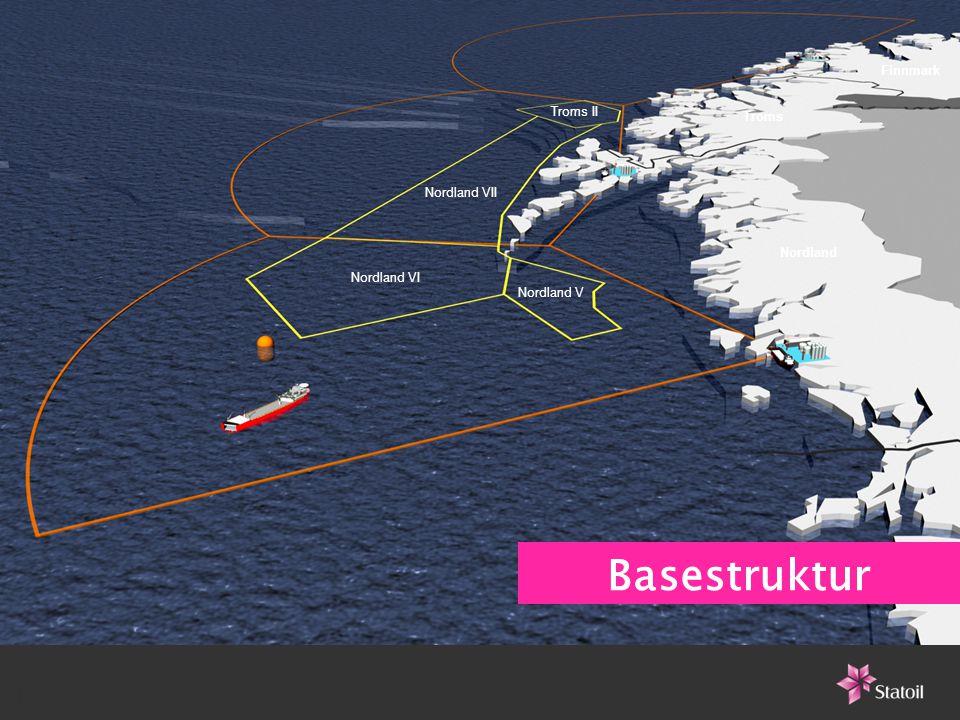 1111 - Troms II Nordland VII Nordland VI Nordland V Troms Finnmark Nordland Basestruktur