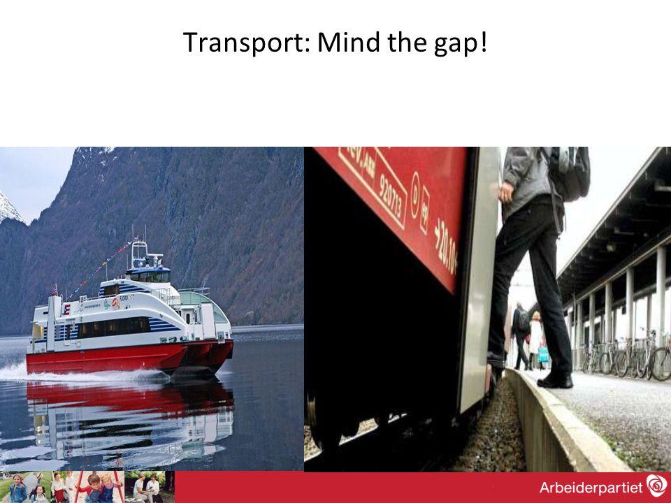Transport: Mind the gap!