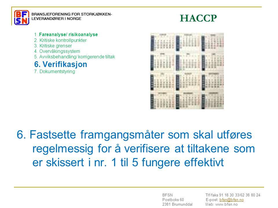 BFSN Tlf/faks 91 18 30 33/62 38 80 24 Postboks 60 E-post: bfsn@bfsn.nobfsn@bfsn.no 2381 Brumunddal Web: www.bfsn.no 1.Fareanalyse/ risikoanalyse 2.