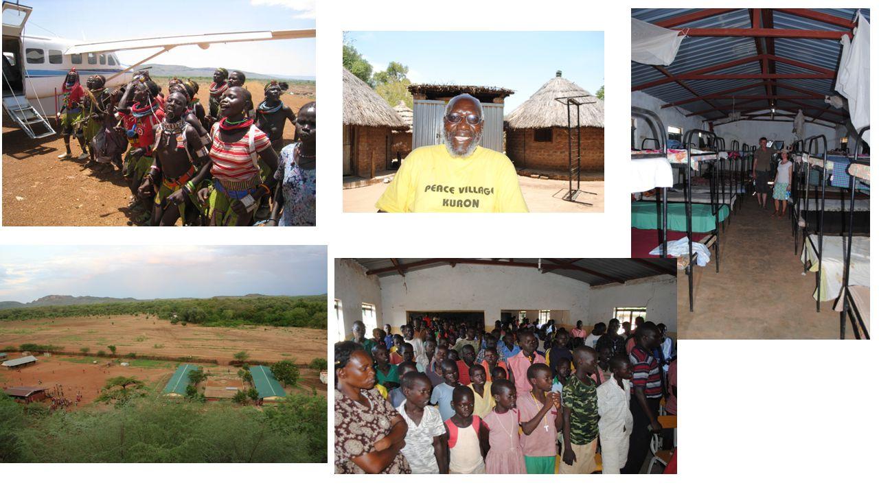 • Bilde av skolen vi har bidratt til å bygge med Gi en dag • Veien videre…