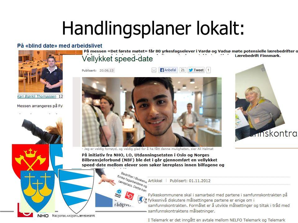 Nasjonal Aksjon Lærebedrift Handlingsplaner lokalt: 3 Sogn og Fjordane Næringsregion Vest har laget en egen ti-punkts liste som er overlevert fylkesko