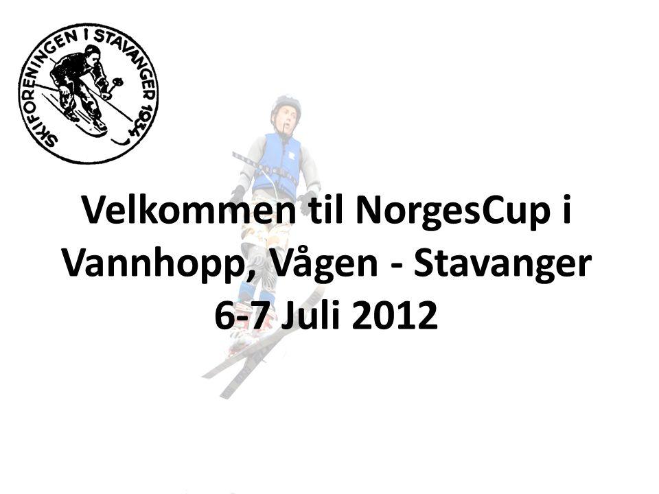Velkommen til NorgesCup i Vannhopp, Vågen - Stavanger 6-7 Juli 2012