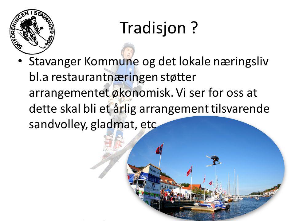 Sted og tidspunkt • Arrangementet vil foregå innerst inne i Vågen i Stavanger sentrum vis a vis fisketorget • Hopp trening og kvalifisering fredag 6.