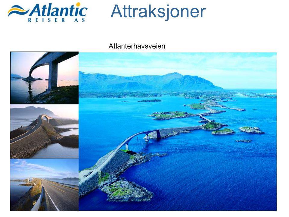 Atlanterhavsveien Attraksjoner
