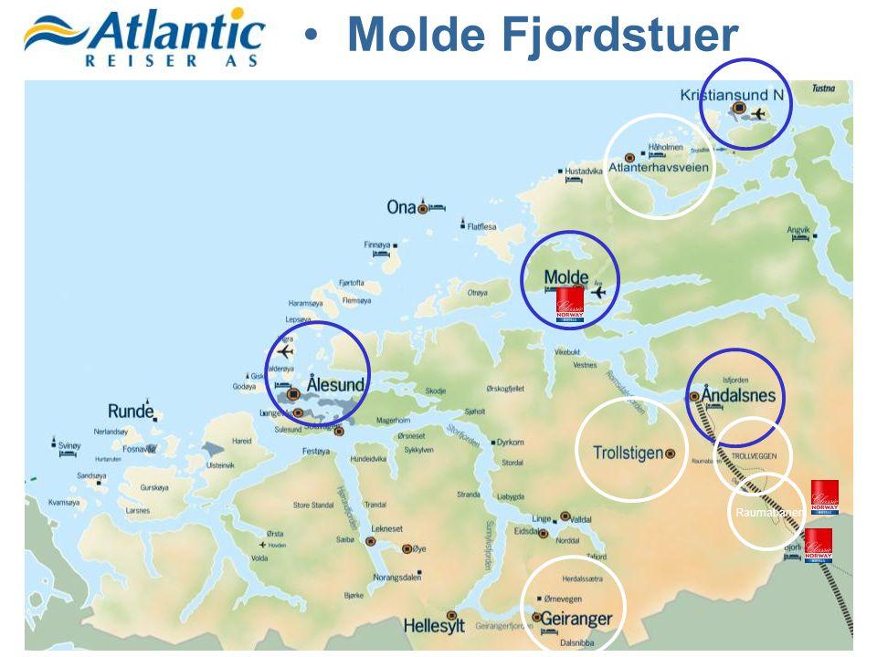 Raumabanen •Molde Fjordstuer