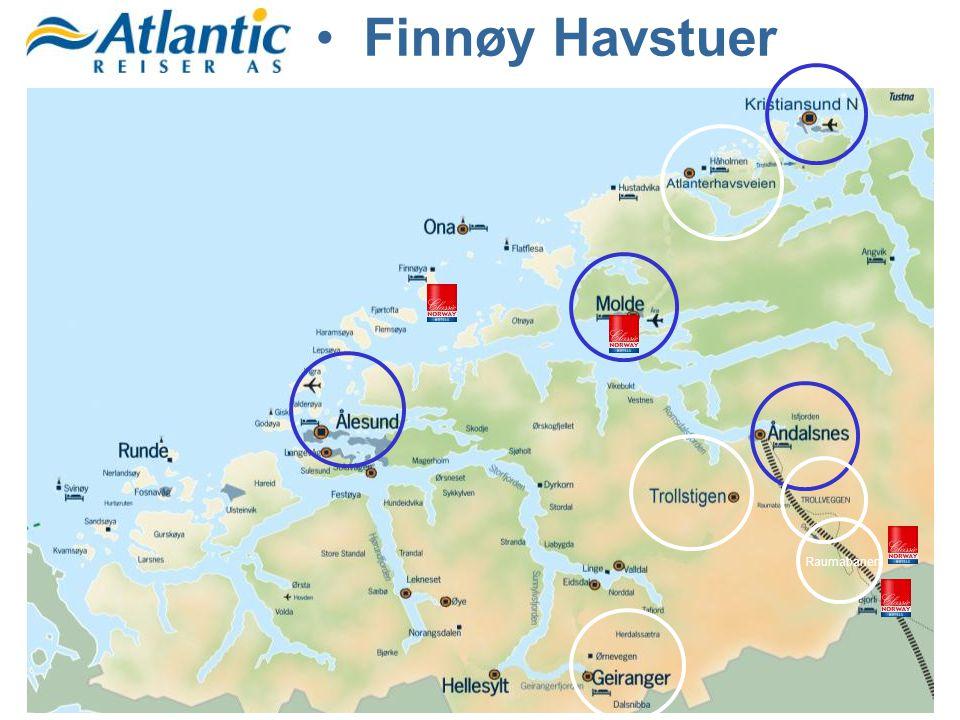Raumabanen •Finnøy Havstuer
