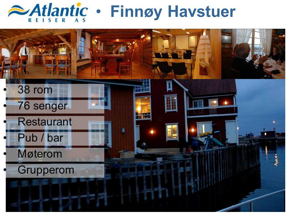 •38 rom •76 senger •Restaurant •Pub / bar •Møterom •Grupperom