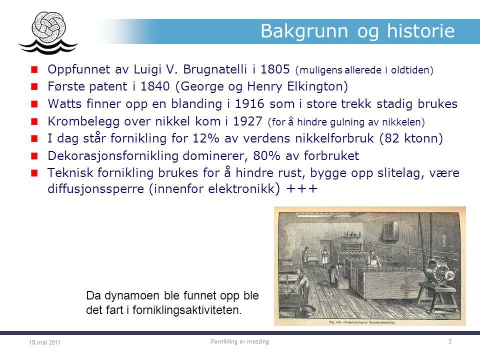 Bakgrunn og historie Oppfunnet av Luigi V.