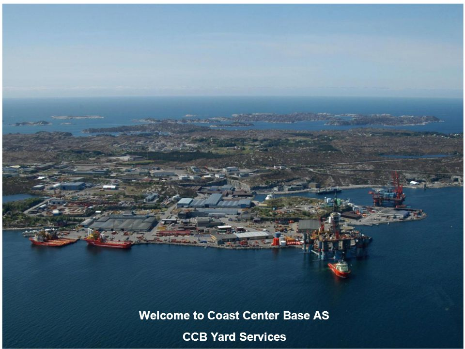Welcome to Coast Center Base AS CCB Yard Services