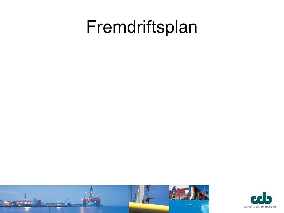 Fremdriftsplan