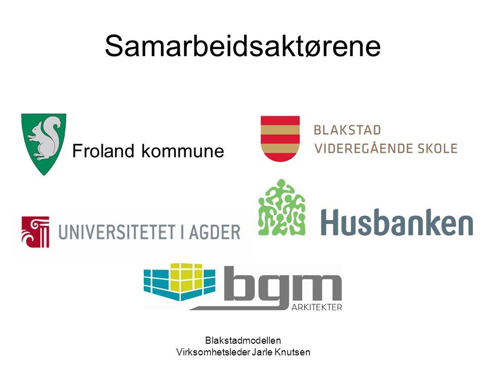 Blakstadmodellen Virksomhetsleder Jarle Knutsen HVORFOR SÅ STERKT FOKUS PÅ BOLIG.
