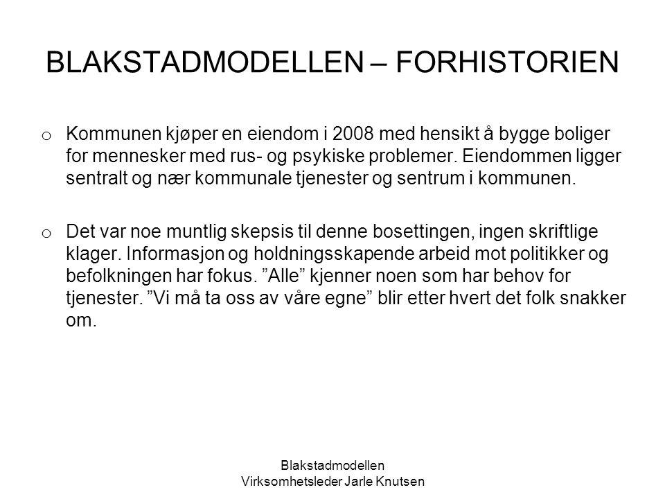 Blakstadmodellen Virksomhetsleder Jarle Knutsen Typisk løsning for passivhus Løfter temperaturen over legionellagrensen (60-65 C) EL
