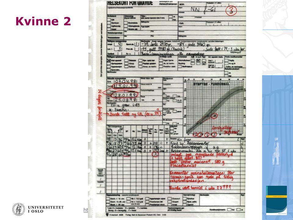 http://www.frognerhelsesenter.no/docs/svangerskapsomsorg.ppt Kvinne 2