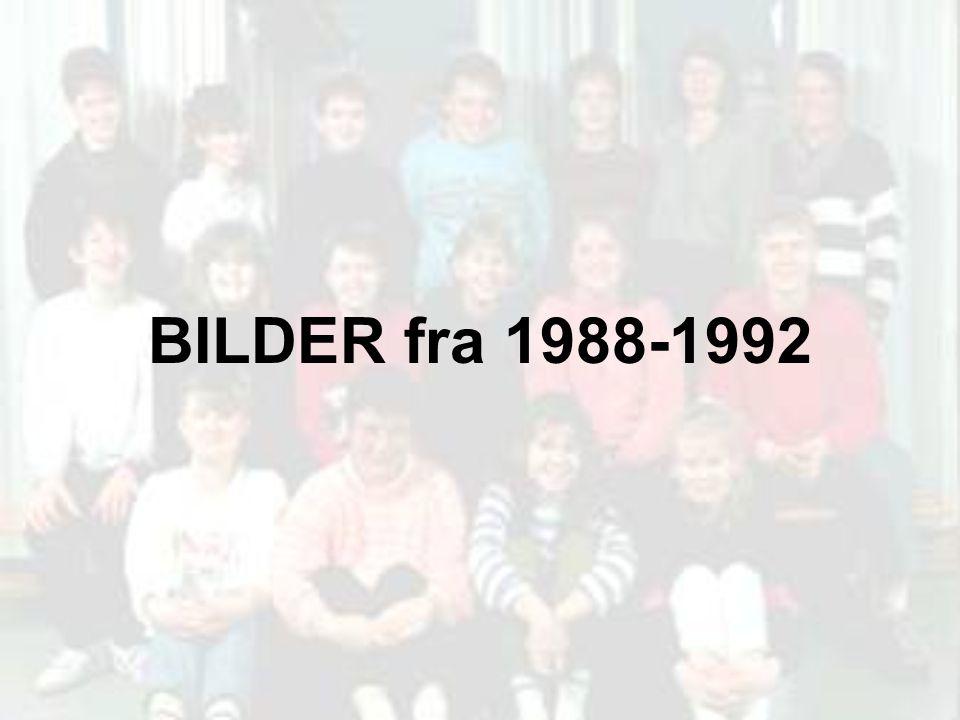 BILDER fra 1988-1992